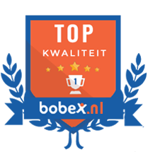 Bobex gebruikers geven de hoogste kwaliteitsscore aan dit bedrijf.